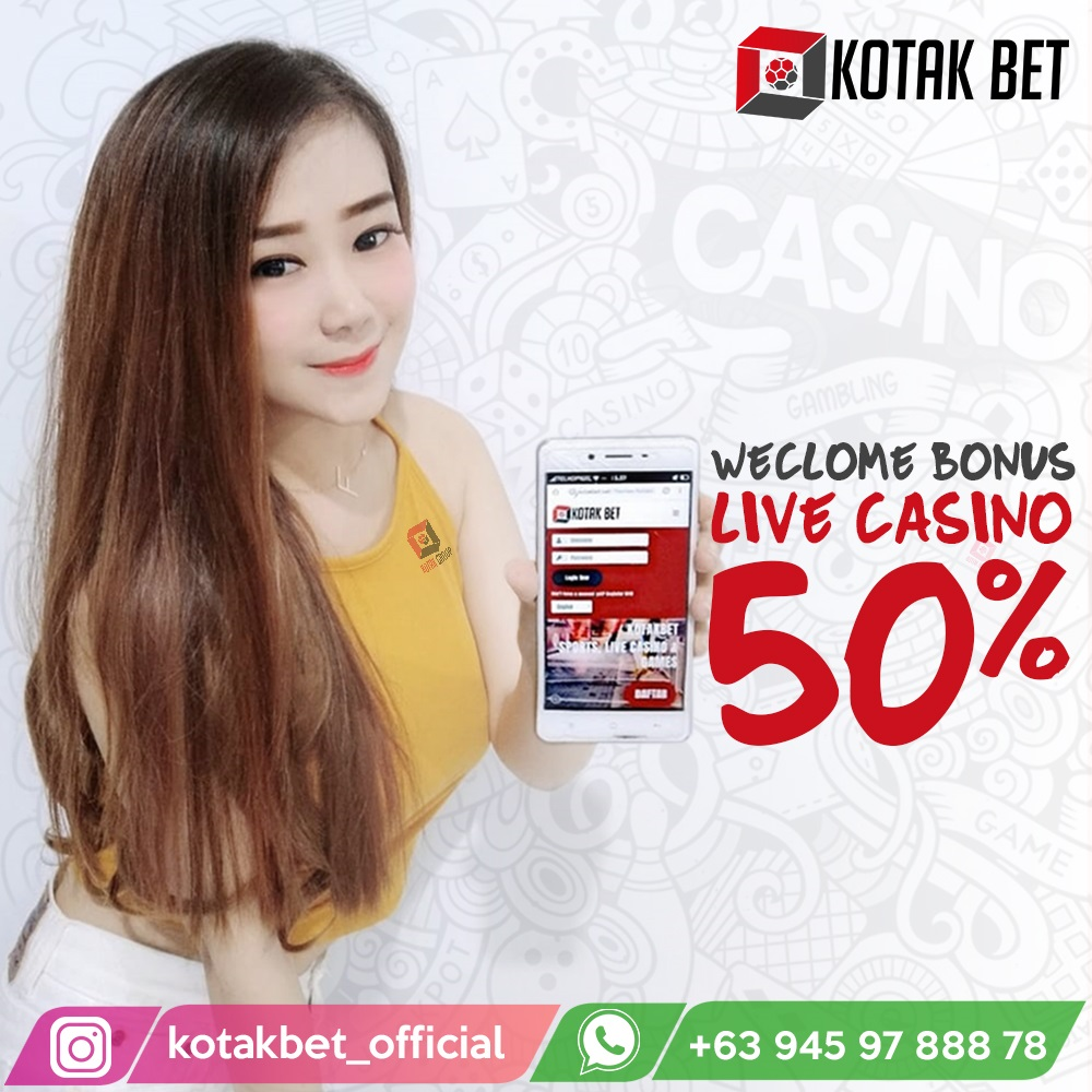 Kotakbet- Welcome Bonus Live Casino 50
